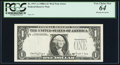 Fr. 1917-A $1 1988A Federal Reserve Note. PCGS Very Choice New 64