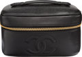 "Luxury Accessories:Accessories, Chanel Black Timeless Caviar Leather Vanity Bag. Condition 2. 7.5"" Width x 5.5"" Height x 4"" Depth. ..."