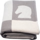 "Hermes Ecru & Gris Clair Wool and Cashmere Cavalier Avalon Blanket Condition: 1 53"" Width x 67"" Length..."