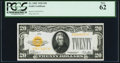 Small Size:Gold Certificates, Fr. 2402 $20 1928 Gold Certificate. PCGS New 62.. ...