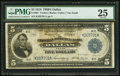 Fr. 807 $5 1918 Federal Reserve Bank Note PMG Very Fine 25