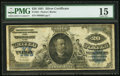 Large Size:Silver Certificates, Fr. 321 $20 1891 Silver Certificate PMG Choice Fine 15.. ...