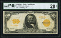 Large Size:Gold Certificates, Fr. 1199 $50 1913 Gold Certificate PMG Very Fine 20 Net.. ...
