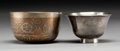 Asian, Two Southeast Asian Silver and Mixed Metals Cups. 2-3/8 x 4 inches(6.0 x 10.2 cm) (larger). ... (Total: 2 Items)