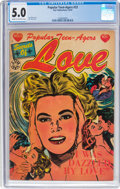 Golden Age (1938-1955):Romance, Popular Teen-Agers #23 (Star Publications, 1954) CGC VG/FN 5.0 Cream to off-white pages....