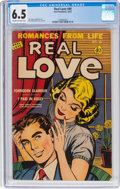 Golden Age (1938-1955):Romance, Real Love #40 (Ace Periodicals, 1951) CGC FN+ 6.5 Off-white towhite pages....