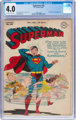 Superman #40 (DC, 1946) CGC VG 4.0 Off-white to white pages