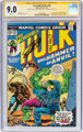 The Incredible Hulk #182 Signature Series (Marvel, 1974) CGC VF/NM 9.0 White pages