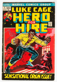 Hero for Hire #1 (Marvel, 1972) Condition: VG-
