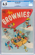 Golden Age (1938-1955):Humor, Four Color #337 The Brownies (Dell, 1951) CGC FN+ 6.5 White pages....