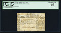 Colonial Notes:New York, New York February 16, 1771 £10 PCGS Extremely Fine 40.. ...