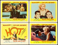 "Movie Posters:Comedy, Some Like It Hot (United Artists, 1959). Title Lobby Card &Lobby Cards (3) (11"" X 14"").. ... (Total: 4 Items)"