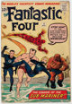 Fantastic Four #4 (Marvel, 1962) Condition: GD