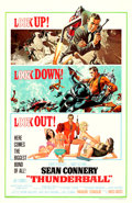 "Movie Posters:James Bond, Thunderball (United Artists, 1965). One Sheet (27"" X 41"") JetpackStyle, Frank McCarthy and Robert McGinnis Artwork.. ..."