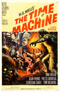 "Movie Posters:Science Fiction, The Time Machine (MGM, 1960). One Sheet (27"" X 41"") Reynold Brown Artwork.. ..."