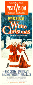 "Movie Posters:Musical, White Christmas (Paramount, 1954). Insert (14"" X 3..."
