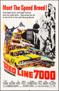 "Movie Posters:Sports, Red Line 7000 (Paramount, 1965). One Sheet (27"" X 41""). Sports.. ..."