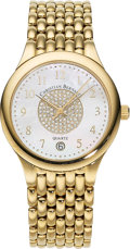 Estate Jewelry:Watches, Christian Bernard Gentleman's Diamond, Mother-of-Pearl, Gold Watch. ...
