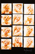 Photographs, Bert Stern (American, 1929-2013). Marilyn Monroe from The Last Sitting (enlarged contact sheet), 1962. Digital pigment p...