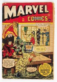 Marvel Mystery Comics #85 (Timely, 1948) Condition: Incomplete