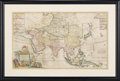 Books:Maps & Atlases, Herman Moll. To the Right Honourable William Lord Cowper... ThisMap of Asia. [London]: Bowles, [circa 1730]. Origin...