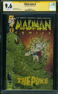 Madman Comics #8 (Dark Horse, 1995) CGC NM+ 9.6 WHITE pages