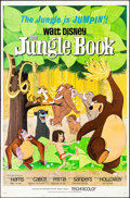 "Movie Posters:Animation, The Jungle Book (Buena Vista, 1967). Folded, Fine/Very Fine. One Sheet (27"" X 41""). Animation.. ..."