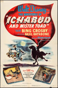 """Movie Posters:Animation, The Adventures of Ichabod and Mr. Toad (RKO, 1949). One Sheet (27"""" X 41""""). Animation.. ..."""