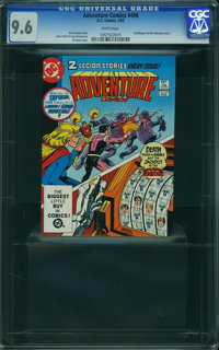 Adventure Comics #496 (DC, 1983) CGC NM+ 9.6 WHITE pages