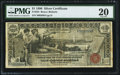 Large Size:Silver Certificates, Fr. 225 $1 1896 Silver Certificate PMG Very Fine 20.. ...