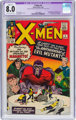 X-Men #4 (Marvel, 1964) CGC Apparent VF 8.0 Off-white to white pages