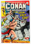 Bronze Age (1970-1979):Adventure, Conan the Barbarian #3 (Marvel, 1971) Condition: NM-....