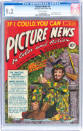 Golden Age (1938-1955):Non-Fiction, Picture News #4 (Lafayette Street Corp., 1946) CGC NM- 9.2Off-white pages....
