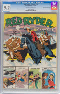 Golden Age (1938-1955):Western, Red Ryder Comics #16 Mile High Pedigree (Dell, 1943) CGC NM- 9.2 Off-white to white pages....