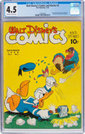 Golden Age (1938-1955):Cartoon Character, Walt Disney's Comics and Stories #2 (Dell, 1940) CGC VG+ 4.5 Off-white to white pages....