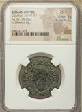 Ancients:Ancient Lots  , Ancients: ANCIENT LOTS. Roman Imperial. Ca. AD 37-54. Lot of three(3) AE asses. NGC Choice Fine-VF.... (Total: 3 coins)