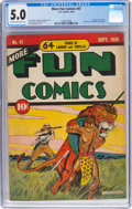Golden Age (1938-1955):Miscellaneous, More Fun Comics #47 (DC, 1939) CGC VG/FN 5.0 Cream to off-white pages....