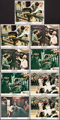 """Movie Posters:Crime, The Godfather (Paramount, 1972). Mini Lobby Cards (9) (8"""" X 10"""").Crime.. ... (Total: 9 Items)"""