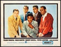 "Movie Posters:Crime, Ocean's 11 (Warner Brothers, 1960). Lobby Card (11"" X 14""). Crime....."