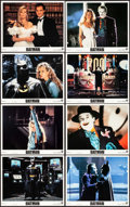 "Movie Posters:Action, Batman (Warner Brothers, 1989). Mini Lobby Card Set of 8 (8"" X 10""). Action.. ... (Total: 8 Items)"