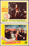 """Movie Posters:Musical, Gentlemen Prefer Blondes & Other Lot (20th Century Fox, 1953). Lobby Cards (2) (11"""" X 14""""). Musical.. ... (Total: 2 Items)"""