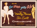 "Movie Posters:Comedy, The Seven Year Itch (20th Century Fox, 1955). Title Lobby Card (11"" X 14""). Comedy.. ..."