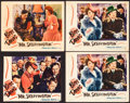 "Movie Posters:Romance, Mr. Skeffington (Warner Brothers, 1944). Lobby Cards (3) (11"" X 14"") & Trimmed Lobby Card (10"" X 12.75""). Romance.. ... (Total: 4 Items)"
