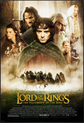 "Movie Posters:Fantasy, The Lord of the Rings: The Fellowship of the Ring (New Line, 2001).One Sheet (27"" X 40"") DS Advance Style D. Fantasy.. ..."
