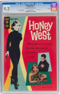Silver Age (1956-1969):Adventure, Honey West #1 File Copy (Gold Key, 1966) CGC NM- 9.2 Off-white to white pages....