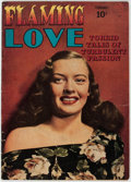Golden Age (1938-1955):Romance, Flaming Love #2 (Quality, 1950) Condition: GD....
