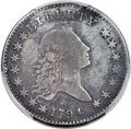 Early Half Dollars, 1794 50C O-106, T-4, Low R.6 -- Environmental Damage -- PC...