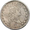 Early Half Dollars, 1795 50C 2 Leaves, Second S Over D, O-129, T-7, R.5 -- Too...