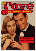 Golden Age (1938-1955):Romance, Love at First Sight #22 (Ace, 1953) Condition: FN....