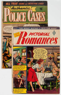 Assorted Golden Age Comics - Matt Baker Group (St. John, 1952-53) Condition: Average FR/GD.... (Total: 2 )